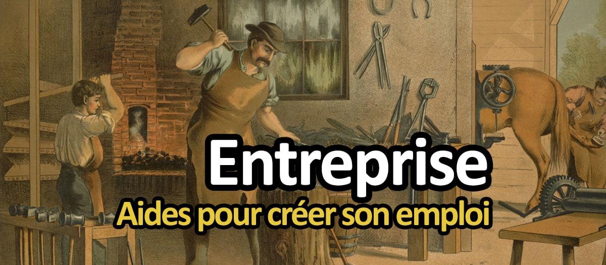 Aide à la création d'entreprise pour chômeur : ACCRE et micro-crédit
