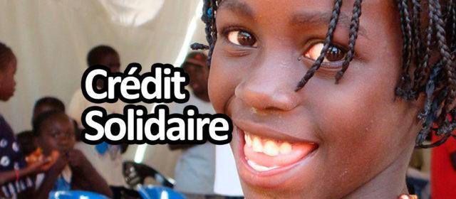 Crédit pour pauvre : microcrédit solidaire