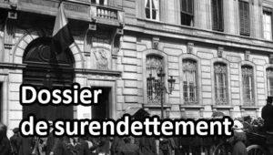 Foule devant la Banque de France