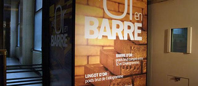 2450 tonnes d'or dans les coffres de la Banque de France