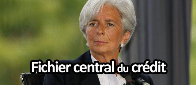 Fichier central du credit et fichier positif - Loi Lagarde