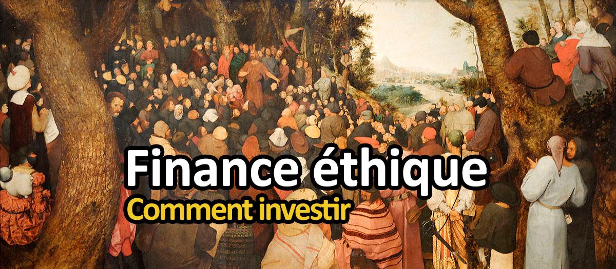 finances éthiques, comment investir