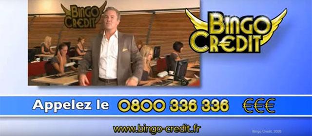 Bingo Credit, crédit irresponsable fictif