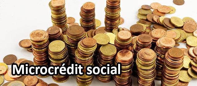 Le microcrédit est un crédit pour de petits montants.