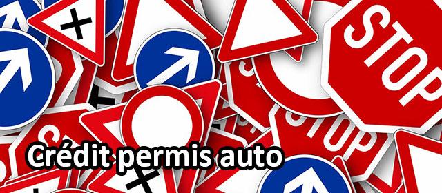 credit permis auto