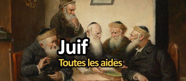 Toutes les aides pour juifs.