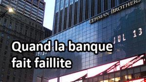 Siège de la banque d'investissements Lehman Brothers, qui fit faillite en 2008.