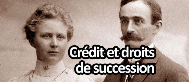 Crédit pour payer les droits de succession