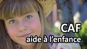 Le rôle principal de la CAF : venir en aide aux familles.