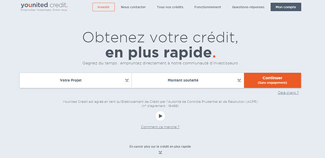 site internet de younited credit