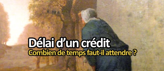délai crédit