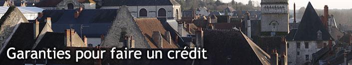 Garanties et cautions pour faire un crédit
