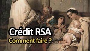 Crédit RSA : tous les prêts pour les allocataires des minima sociaux