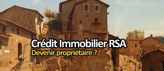 crédit immobilier rsa