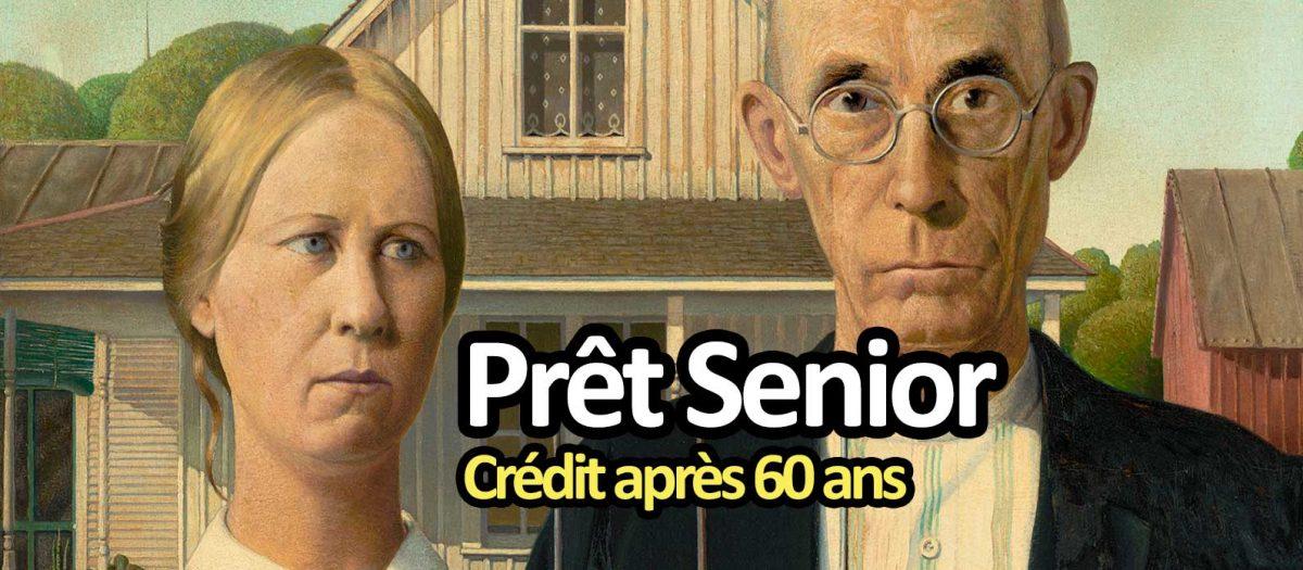 Crédit retraité : les prêts seniors après 60 ans