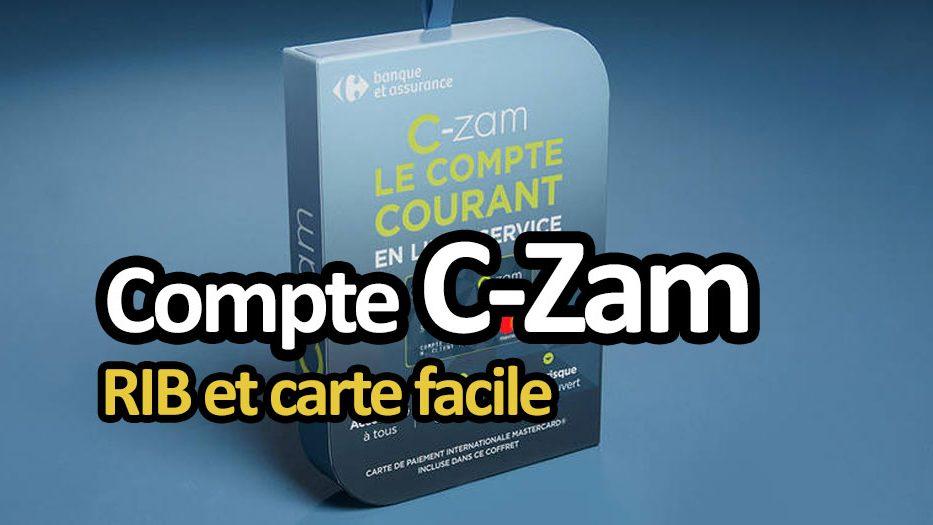 Carte C Zam Mineur.Avis Sur C Zam De Carrefour Banque Rib Et Carte Facile