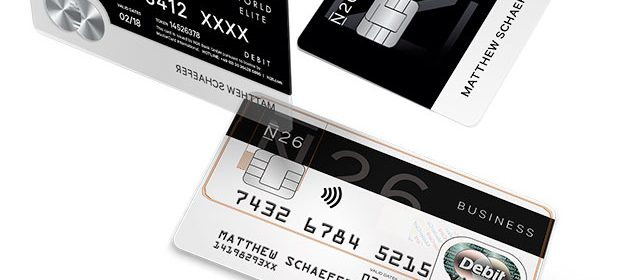 Cartes bancaires N26