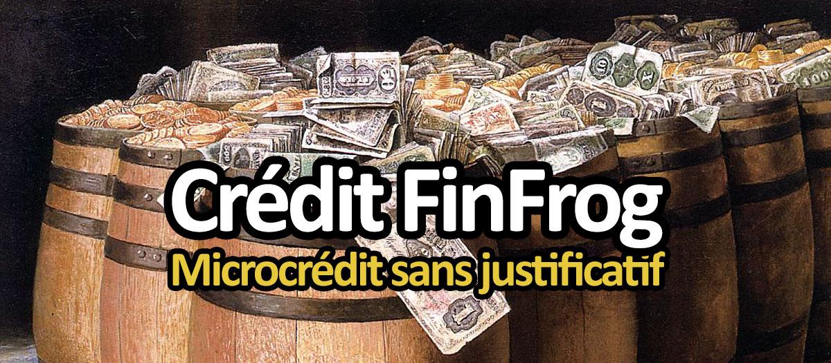 Crédit FinFrog : un microcrédit urgent sans justificatif