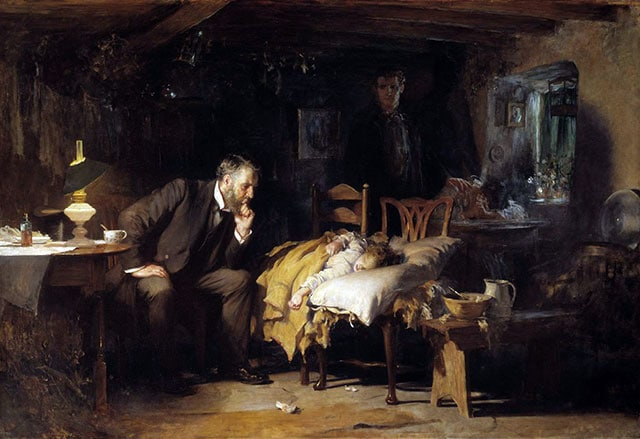 medecin au chevet d'un malade