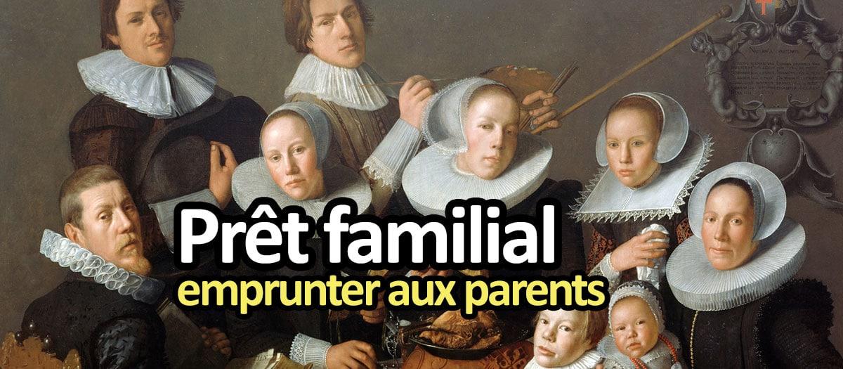 Prêt familial : comment emprunter de l'argent à ses parents