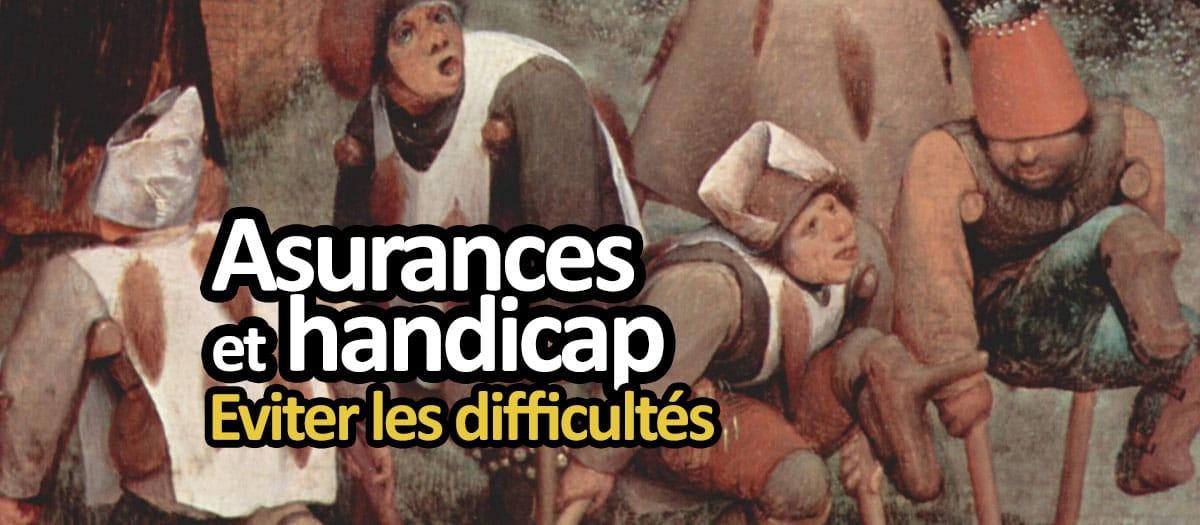 Assurances et handicap : 5 types de contrat passés au crible