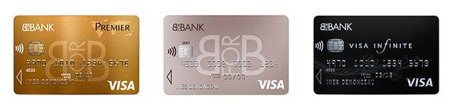 cartes bancaires visa BforBank