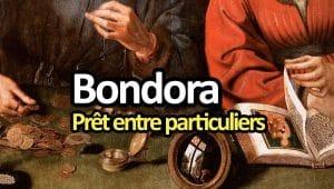 Bondora, prêt entre particuliers