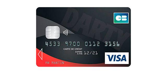 Carte de crédit Darty