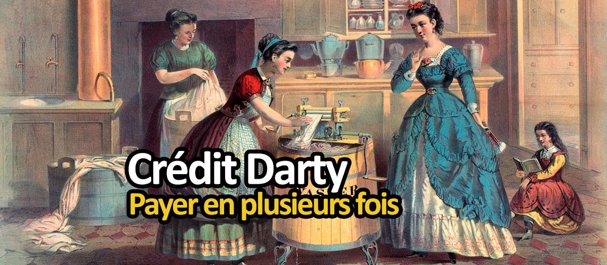 Ancienne publicité pour un lave-linge