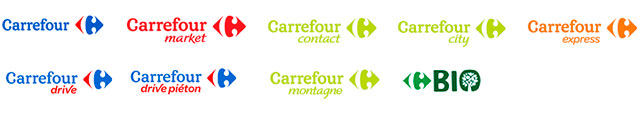enseignes Carrefour